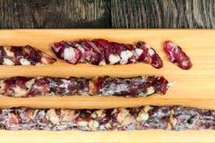 Dried Sausage Stock Image