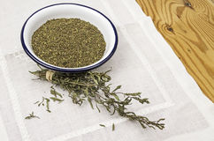 Dried savory Royalty Free Stock Photography