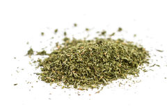 Dried savory Stock Photography