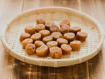 Dried scallops Stock Photo