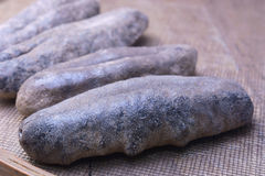 Dried sea cucumber. Royalty Free Stock Photo