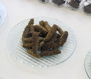 Dried sea cucumber Royalty Free Stock Photo