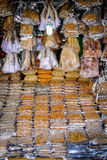 Dried Seafood for Sale Stock Photos