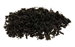 Dried Seaweed. One type of dried seaweed commonly used for salads and soups Stock Photos