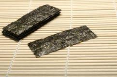 Dried seaweed Stock Image