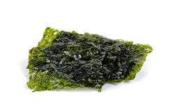 Dried seaweed isolated on the white background Stock Photo