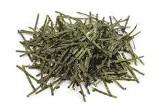 Dried seaweed. Japanese food ingredient dried seaweed , nori Royalty Free Stock Photo
