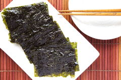 Dried seaweed Royalty Free Stock Images