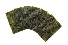 Dried seaweed Royalty Free Stock Photography