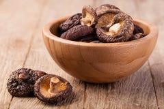 Dried shitake mushroom Royalty Free Stock Photo