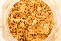 Dried shredded pork Royalty Free Stock Photo