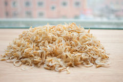Dried shrimp Stock Photo