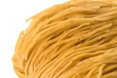 Dried Shrimp Noodles Macro Royalty Free Stock Photography