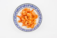 Dried shrimp Raw materials Stock Image