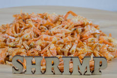 Dried shrimp3 Royalty Free Stock Images