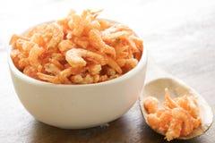 Dried shrimp Stock Photo