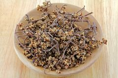 Dried Sichuan pepper Stock Image