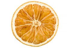 Dried slice of orange Stock Photography