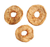 Dried sliced apple Stock Images