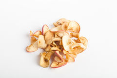 Dried slices of red apple Royalty Free Stock Images