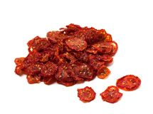 Dried slices of tomato Stock Photos