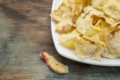 Yacon chips Stock Photography