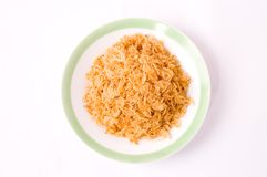 Dried small shrimps,chinese food Stock Photo