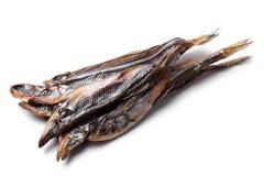 Dried smelt Stock Photo