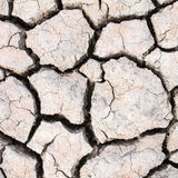 Dried soil ,crack in the land. Background Stock Photography