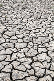 Dried soil ,crack in the land Stock Photo