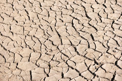 Dried Soil of a Mud Flat Royalty Free Stock Photography