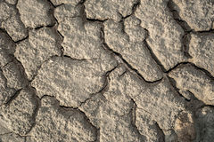 Dried soil texture Stock Photos