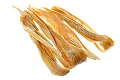Dried Soya Bean Curd Strips Royalty Free Stock Images