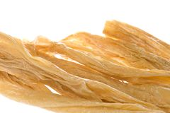 Dried Soya Bean Curd Strips Stock Images