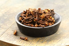 Dried spice cloves Royalty Free Stock Photos