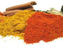 Dried spices Stock Photos
