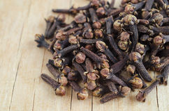 Dried spices cloves Royalty Free Stock Photos