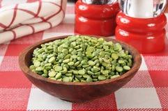 Dried split peas Stock Image