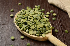 Dried split peas Stock Image
