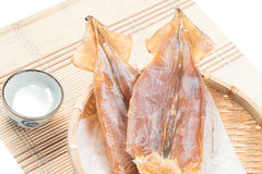 Dried squid Royalty Free Stock Photos