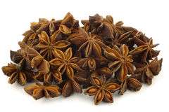 Dried star anise  (Illicium verum) Royalty Free Stock Image