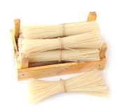 Dried stick noodle Royalty Free Stock Photography