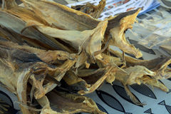 Dried stockfish Stock Image