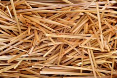 Straw texture background stock photography