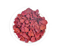 Dried strawberries Royalty Free Stock Photography