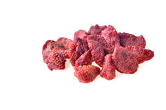 Dried strawberries Royalty Free Stock Images