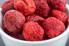 Dried Strawberry Royalty Free Stock Photos