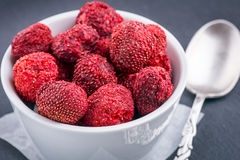 Dried Strawberry Royalty Free Stock Photography