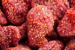 Dried strawberry Stock Images