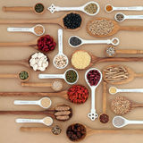 Dried Superfood Sampler Royalty Free Stock Photography